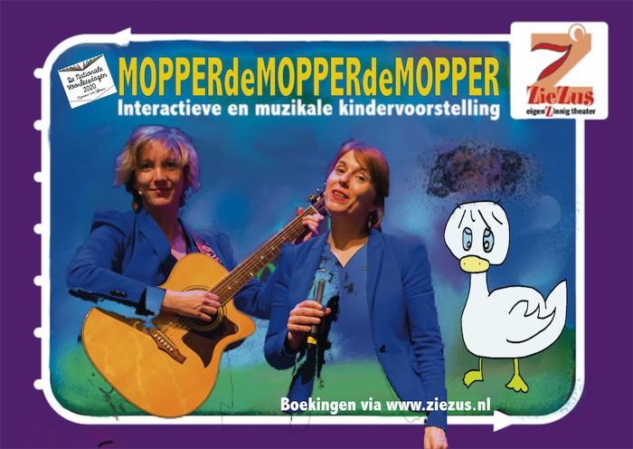 Voorstelling Nationale Voorleesdagen: MOPPERDEMOPPERDEMOPPER (2+)