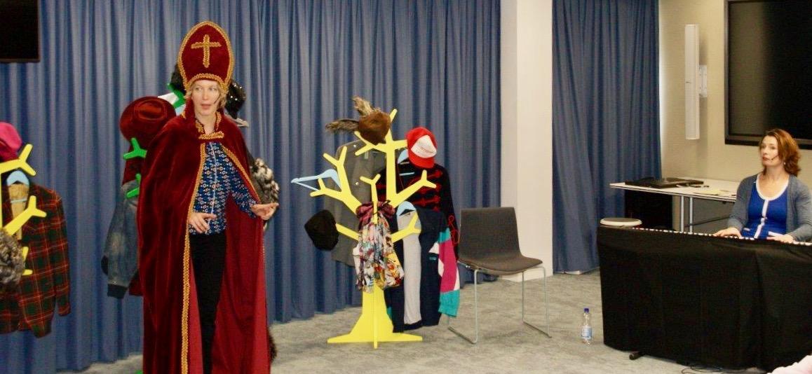 Sinterklaasvoorstelling Piet Op Pad voor kinderen van medewerkers Unigarant