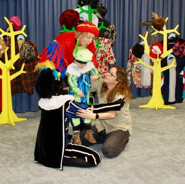 Voor kinderen van medewerkers Unigarant Sinterklaasvoorstelling ZieZus