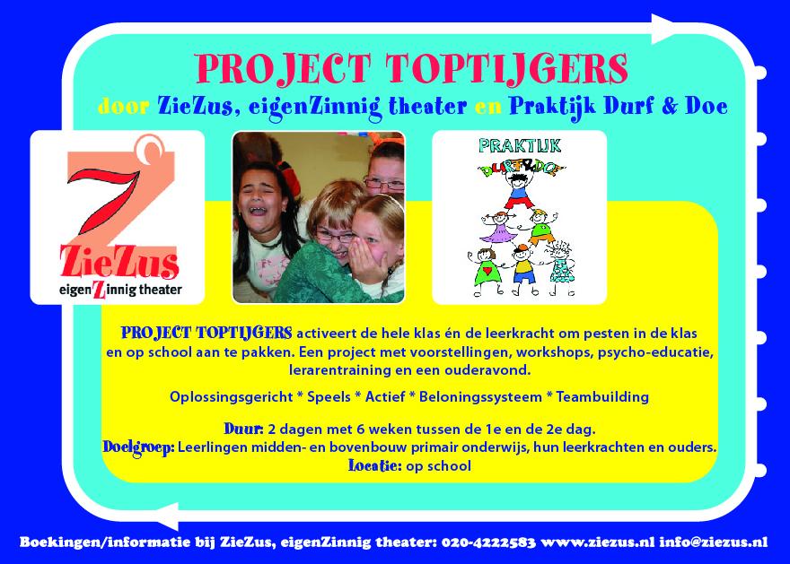 Nee tegen pesten: Project TOPTIJGER